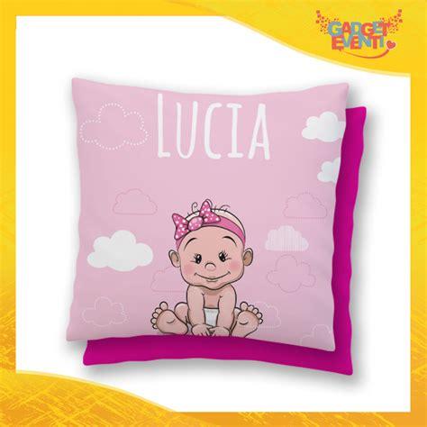 cuscino bimbo cuscino bambino baby con nome personalizzabile quot bimbo