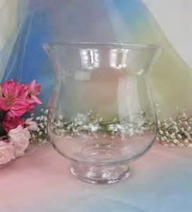 Large Candle Vase Glass Large Hurricane Vase Candle Holder Bouquet Holders