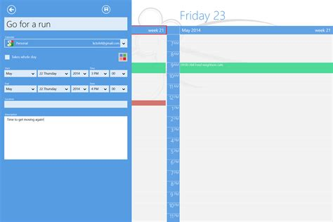 windows calendar template blank calendar for windows 8 app calendar template 2016