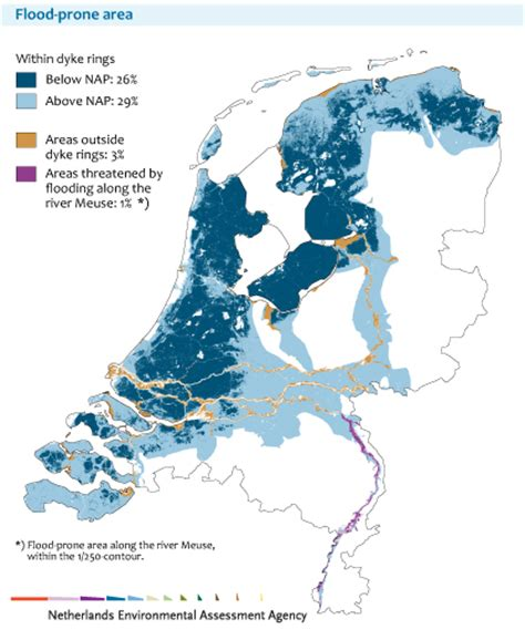 netherlands map below sea level scisnack flood management below sea level strategies