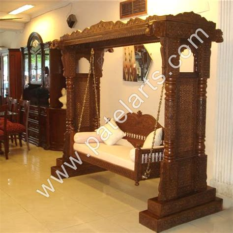 traditional jhoola indian swing handicraft decorative swing manufacturers india decorative carved