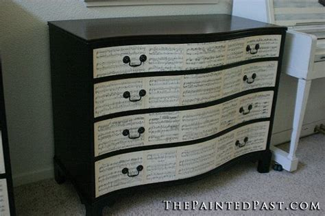 Decoupage A Dresser by Decoupage Dresser Set
