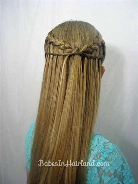 hair braid that looks like feathers how to waterfall braid male models picture