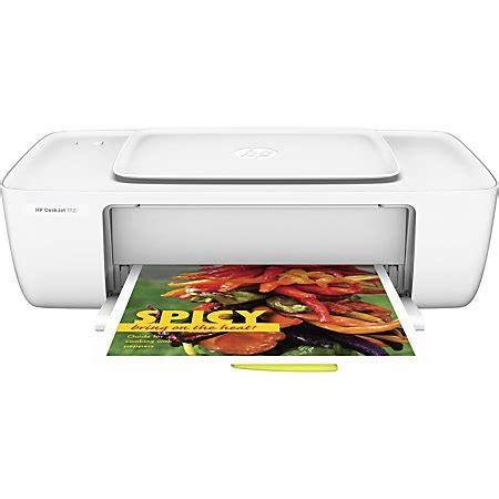 Hp Printer Deskjet 1112 hp deskjet 1112 color inkjet printer by office depot