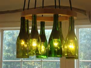 Wine Bottles Chandelier Wine Bottle Chandelier