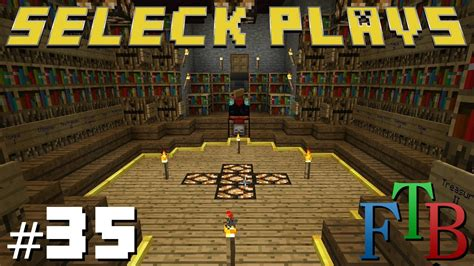 minecraft enchanting room minecraft feed the beast ep 35 enchantment room design and some redstone