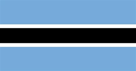 flags of the world light blue national flag of botswana from http www flagsinformation