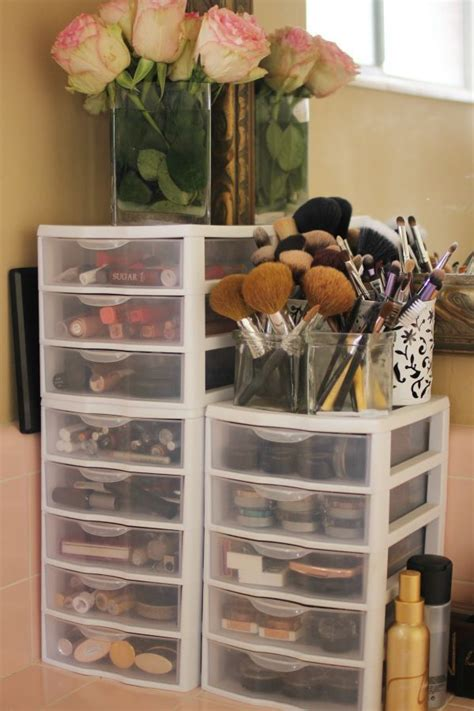 Bathroom Makeup Storage Ideas 17 Best Ideas About Plastic Storage Drawers On Decorating Plastic Drawers Painting