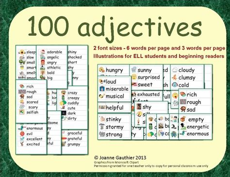 4 Letter Words Made From Speak 55 best images about adjectives on descriptive