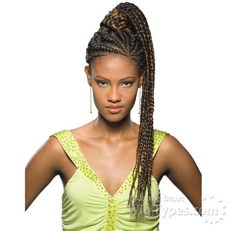 Styles With Kanekalon Hair | braided hairstyles with kanekalon short hairstyle 2013