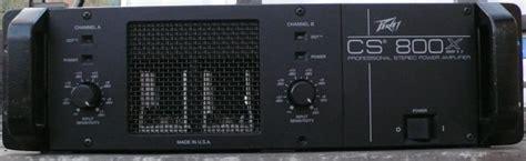 Power Lifier Peavey Cs 800 peavey cs 800x image 500031 audiofanzine