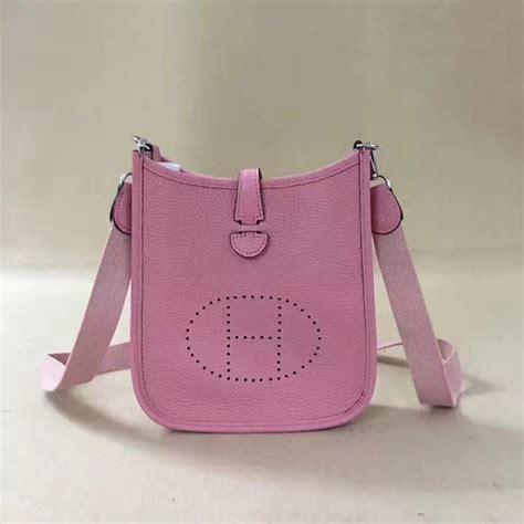 hermes mini evelyne tpm bag pink 159 00 replica