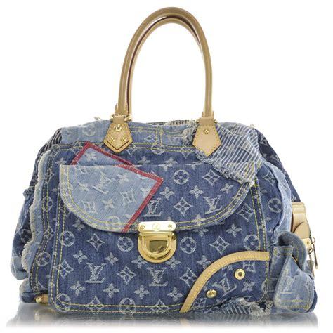 Patchwork Louis Vuitton - louis vuitton denim patchwork bowly blue 31981