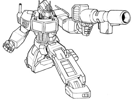 optimus prime coloring pages to print bestofcoloring com
