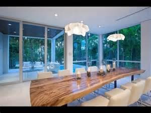 mesas de comedor modernas extensibles redondas