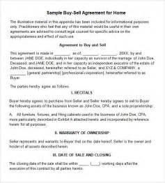 Boat Partnership Agreement Template by Sle Buy Sell Agreement 7 Free Documents In Pdf Word