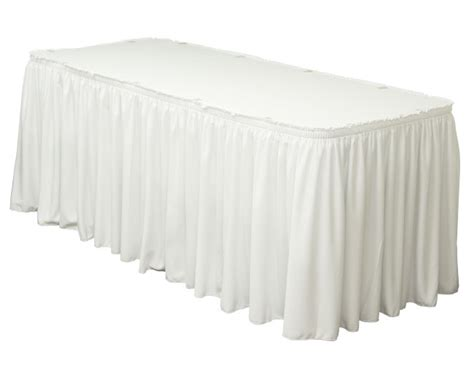 Table Skirting by Durango Rental Tents Wedding Supplies Services