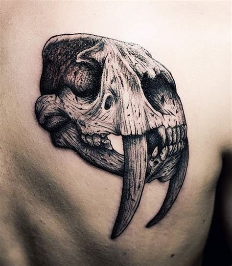 animal skull tattoo 99 gnarly skull tattoos that will make you gawk