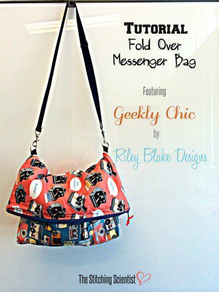 Slingbag Stch Foldover fold messenger bag the stitching scientist