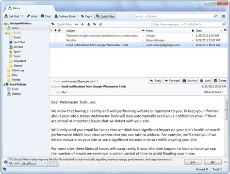 Mozilla Thunderbird 20 Is Go Free Email Client Now Available In Updated Format by Thunderbird 52 7 0 For Windows Screenshots