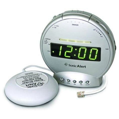 best alarm clock for hearing impaired
