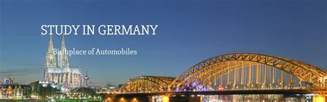 Consultancy For Mba Study In Europe by Study In Germany For Free Study In Germany For Indian