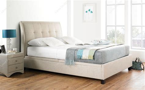 fabric ottoman storage bed linea design kaydian accent fabric ottoman storage bed