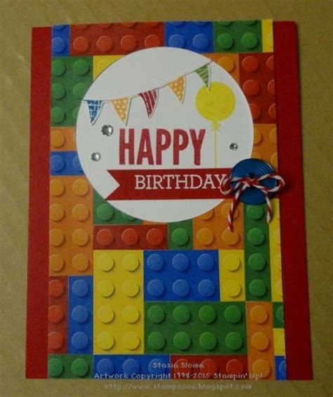 Lego Birthday Cards 17 Best Ideas About Lego Card 2017 On Pinterest Happy