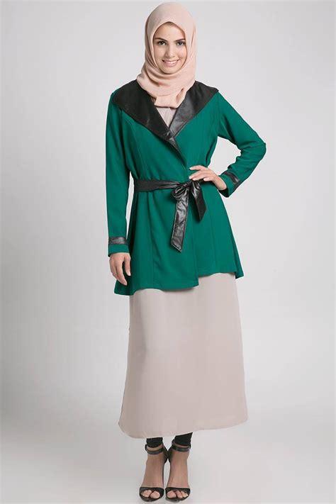 model baju muslim modis untuk paduan rok dan celana panjang