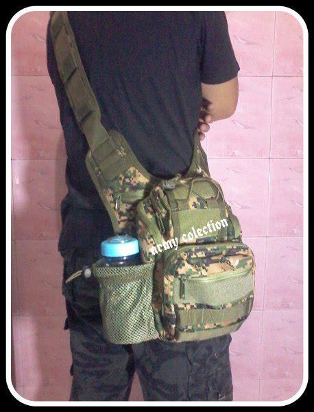 jual tas slempang army type 803 mini warna marpat digital ijo di lapak smart smartangel