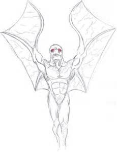 the mothman by drunken celt on deviantart sketch template