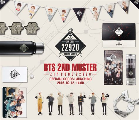 bts official merchandise muster