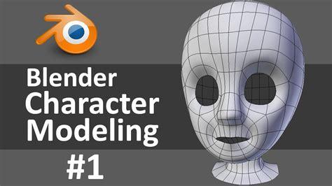 blender 3d tutorial character modeling blender character modeling 1 of 10 youtube