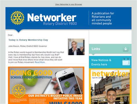 Bulletins Newsletters Rotary Bulletin Templates