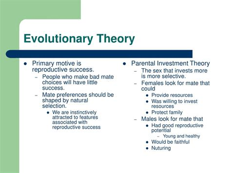 theories of evolution section 15 2 review ppt chapter 3 attraction powerpoint presentation id