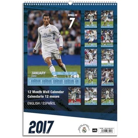 Calendario Real Madrid 2018 Calendario 2018 Real Madrid Europosters It