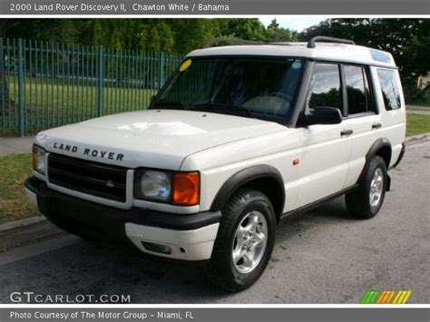 2000 land rover discovery interior chawton white 2000 land rover discovery ii bahama