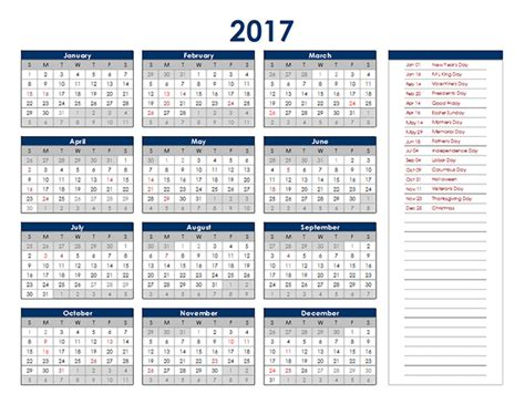 how to create a yearly calendar in excel chron com