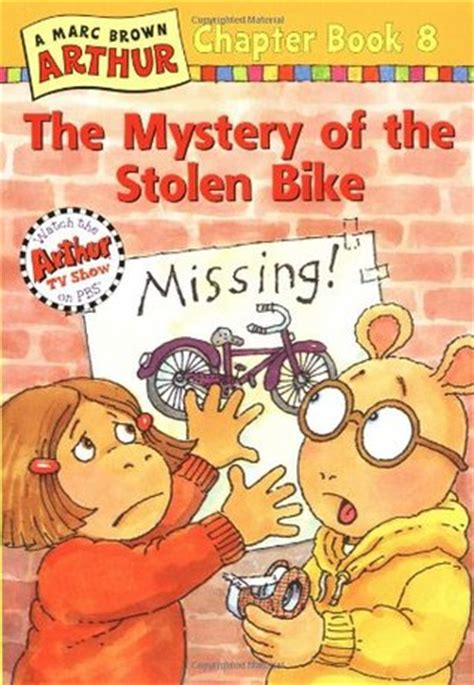 the stolen books the mystery of the stolen bike arthur chapter book 8