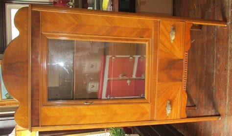 deco china cabinet vintage deco china cabinet with one drawer ebay