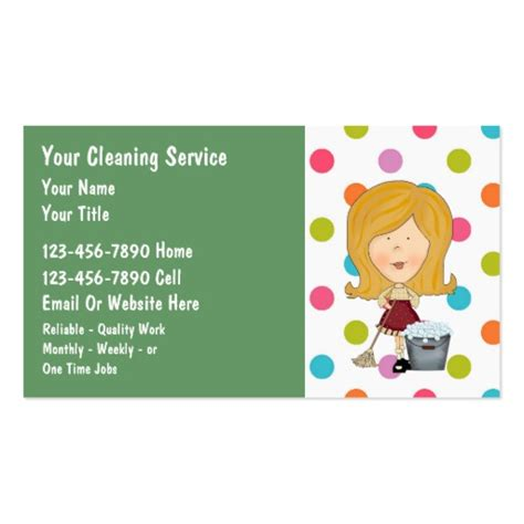 house cleaning business cards house cleaning business cards zazzle