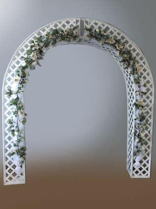 Wedding Lattice Arch by Lattice Wedding Arch With Flowers Iowa City Cedar