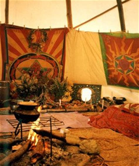 great interior  tipi yurt native american