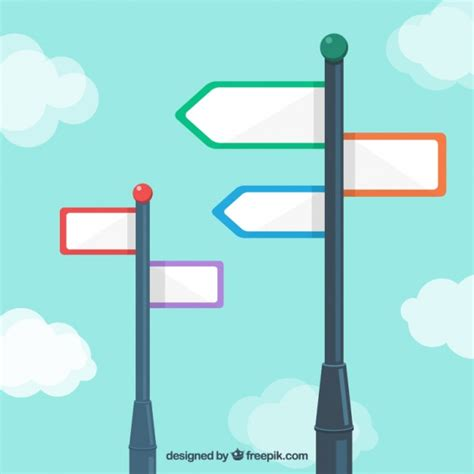 Sign Post Template signpost vectors photos and psd files free