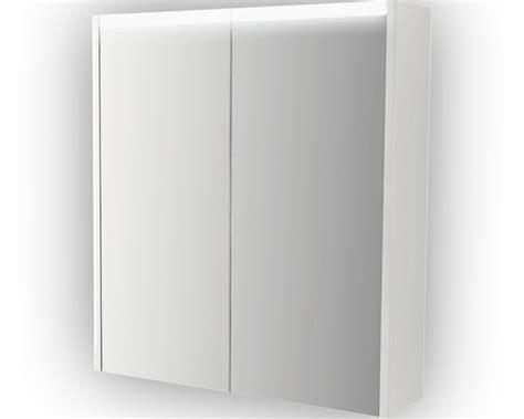 spiegelkast badkamer 60 cm spiegelkast wit 60 cm met led verlichting en 2 deuren
