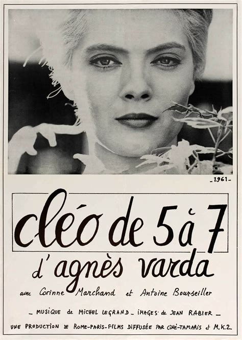 agnes varda new movie cl 233 o from 5 to 7 1962 agnes varda s film about a woman
