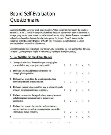 Self Evaluation Form Templates Nonprofit Program Evaluation Template