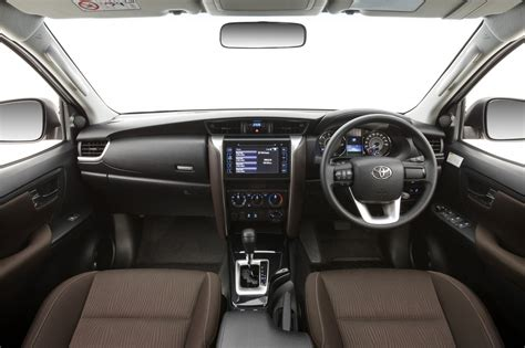 car interior upholstery philippines 2016 toyota fortuner interior revealed practical motoring