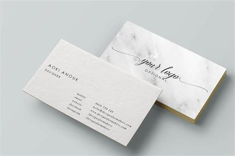 calligraphy business card template marble business card calligraphy business card premade