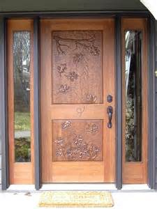 Home Decor Types Wood Front Door For Beautiful Home Design Idea